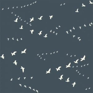 Bio-Jersey Birch Fabrics Birch Basics - Flight in dusk