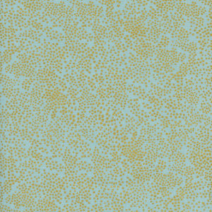 Cotton&Steel Menagerie - Champagne Mint Metallic