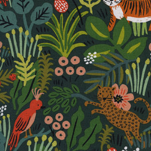 Cotton&Steel Menagerie - Jungle Hunter Canvas