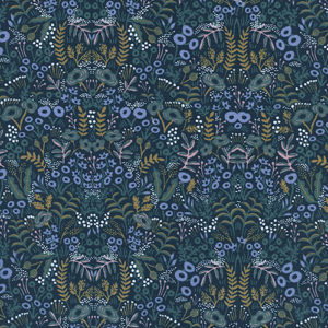 Cotton&Steel Menagerie - Tapestry Navy