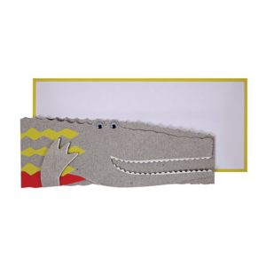 Crocodile Concertina Card
