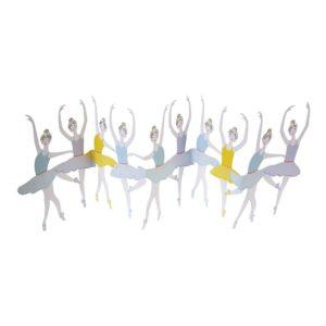 Ballet Dancers Concertina Card