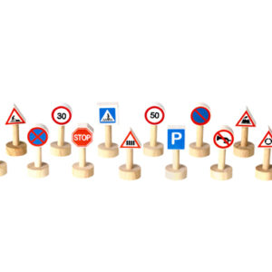 Plan Toys - Traffic Signs