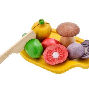 Plan Toys - Gemüseset zum Schneiden