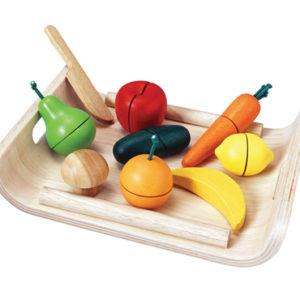 PlanToys - Obst- und Gemüseset