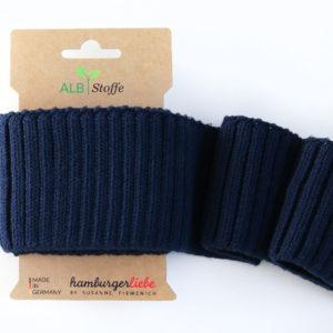 Albstoffe - Cuff Me Cozy dunkelblau (blue navy)