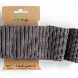 Albstoffe - Cuff Me Cozy taupe (grigio londra)