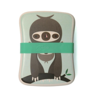 Bamboo Lunchbox - Faultier green