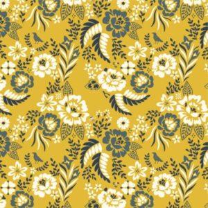 Birch Fabrics - Merryweather - Merry Floral Marigold