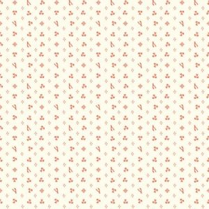 Birch Fabrics Merryweather - Merrythought in cream/red