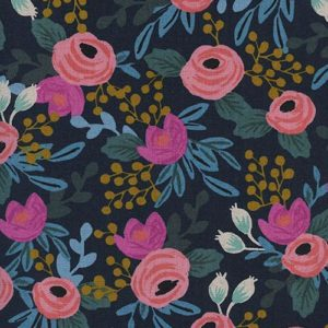 Cotton&Steel - Menagerie - Rosa Navy (C)
