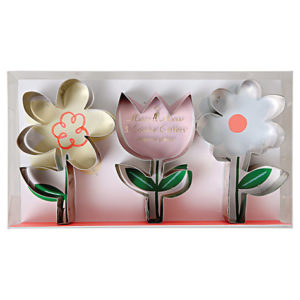 Meri Meri - Flower Cookie Cutters