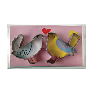 Meri Meri - Love Birds - Cookie Cutters