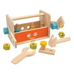 Plan Toys - Roboter Werkzeugkasten