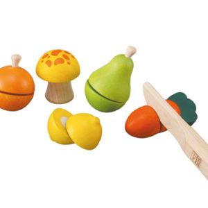 Plan Toys - Schneide Obst - Früchte