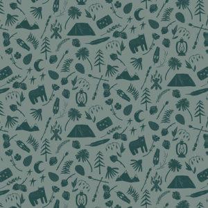 Art Gallery Fabrics - Capsules Campsite - Camping Stories
