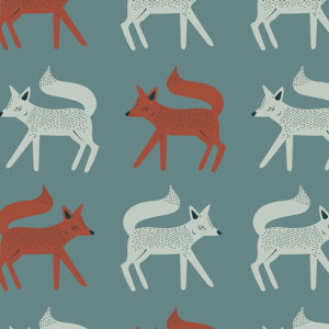 Art Gallery Fabrics - Capsules Campsite - Sneaky Little Foxes