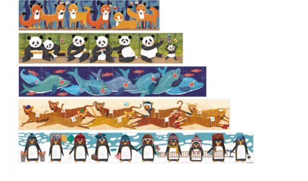 Londji - 10-penguins Puzzle