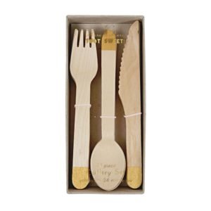 Wooden Cutlery Set