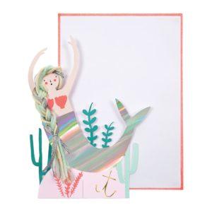 Mermaid Scene Card