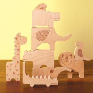Petit Collage - Wooden Puzzle Safari
