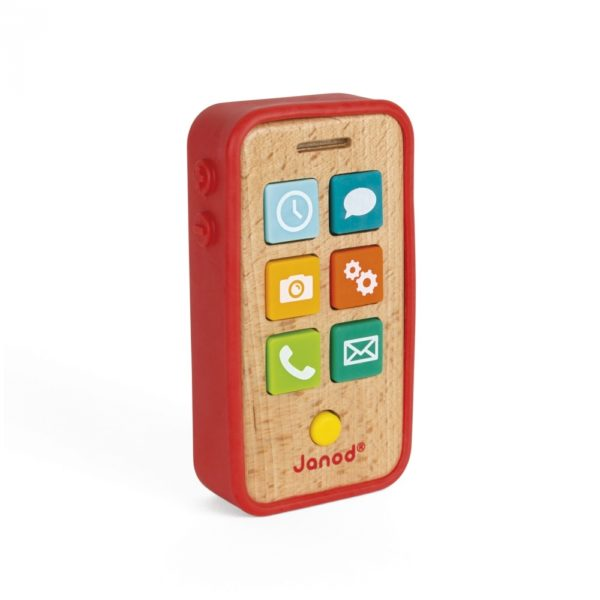 Janod - Smartphone aus Holz mit Funktionen