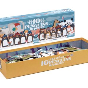 Londji - Puzzle - 10 penguins
