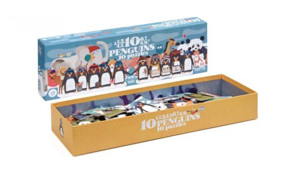Londji - Puzzle - 10 penguins