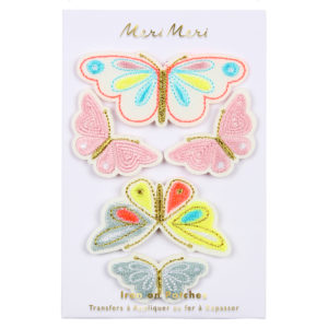 Meri Meri - BUTTERFLIES IRON ON PATCHES