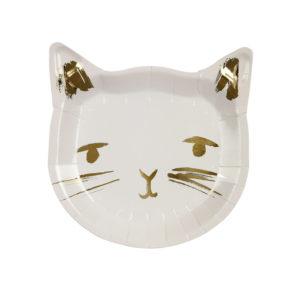 Meri Meri - Cat Plate
