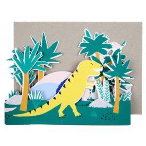 Meri Meri - Concertina Card Dinosaurier