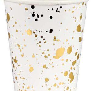 Meri Meri - GOLD SPLATTER CUP