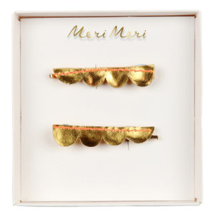 Meri Meri - Haarclips gold
