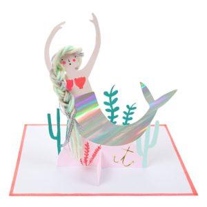 Meri Meri - Mermaid Card