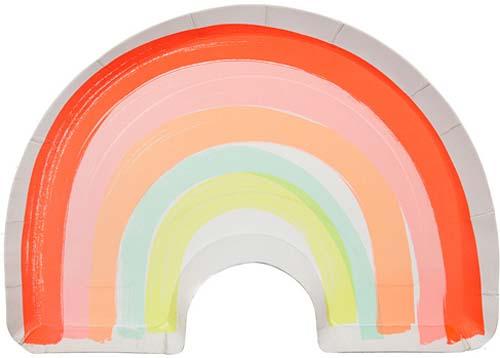 Meri Meri - RAINBOW PLATE