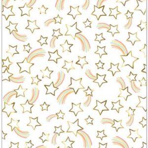 Meri Meri - SHOOTING RAINBOW STAR WRAP X3