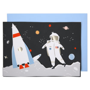 Meri Meri - Space Concertina Card