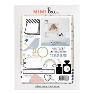 MIMI'lou - Just a touch - mon cadre de naissance