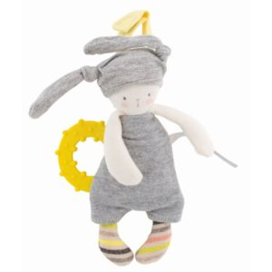 Moulin Roty - Beißring Hase les petits Dodos