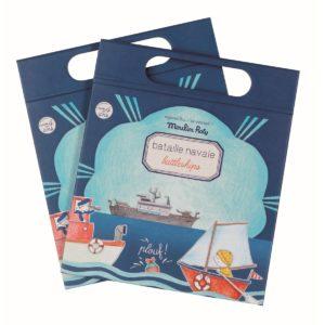 Moulin Roty - Magnetspiel 'Schiffe versenken'