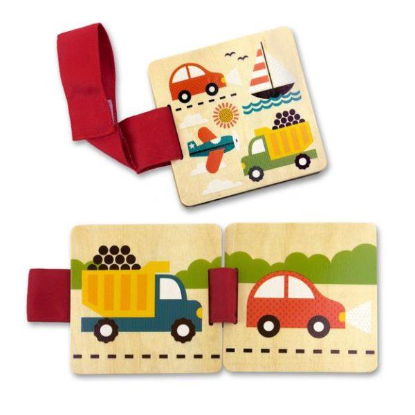 petit collage - Kinderwagenbuch (Fahrzeuge)