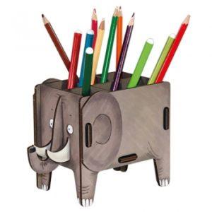 Werkhaus - Vierbeiner Stiftebox (Elefant)