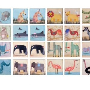 Londji - wild animals memo