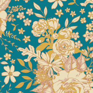 Art Gallery Fabrics - Soulful - Floral Universe (R)