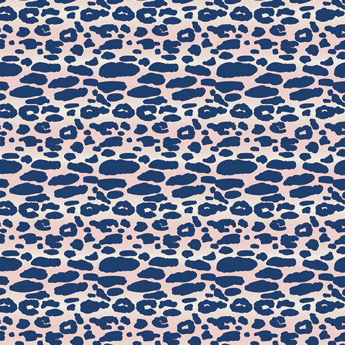 Art Gallery Fabrics - Indigo&Aster - Animalia Exotica Oasis