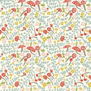 Birch Fabrics - Folkland - Mushroom Keep (J)