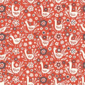 Birch Fabrics - Folkland - Pheasants (J)