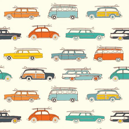 Birch Fabrics - Summer 62 - Surf Rally
