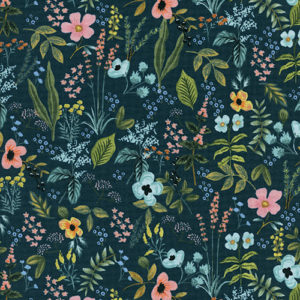 Cotton&Steel - Amalfi - Herb Garden Navy