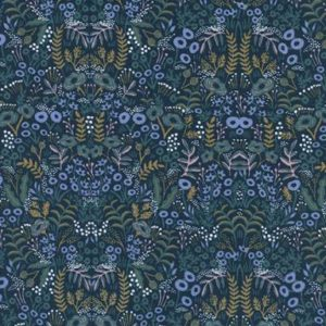 Cotton&Steel - Menagerie - Tapestry Navy (r)